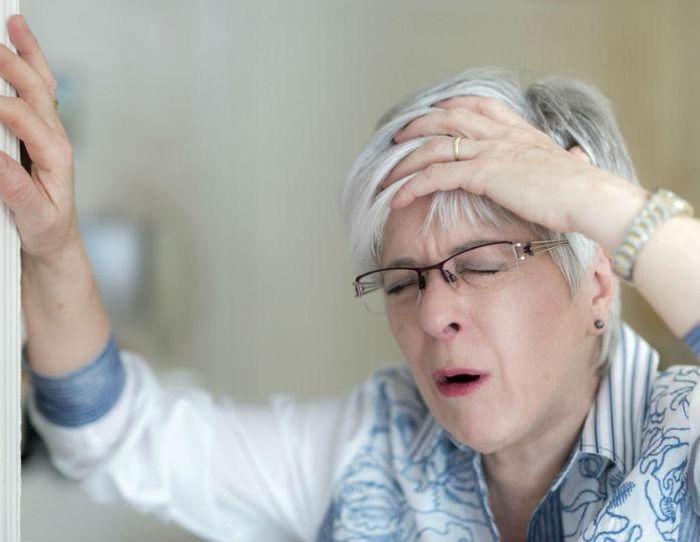 Инсульт у женщины
