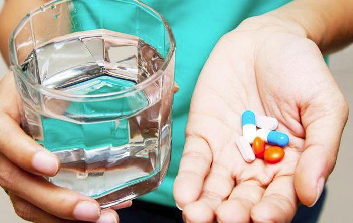 Приём витаминов для глаз