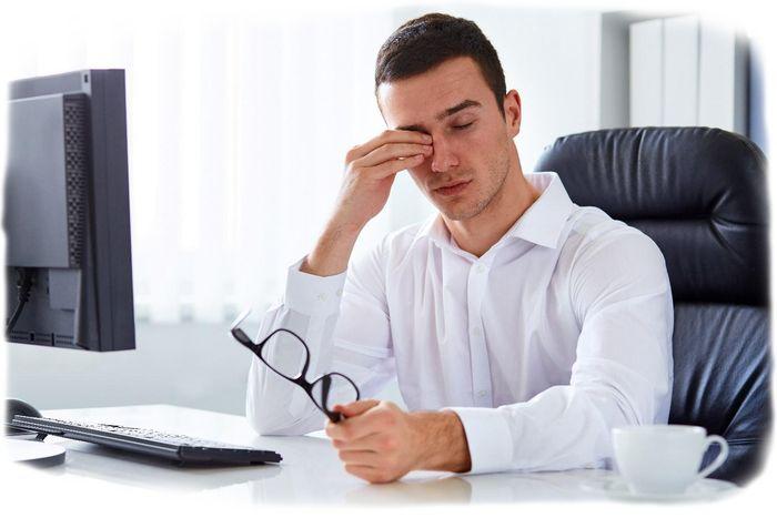 Устают глаза от компьютера