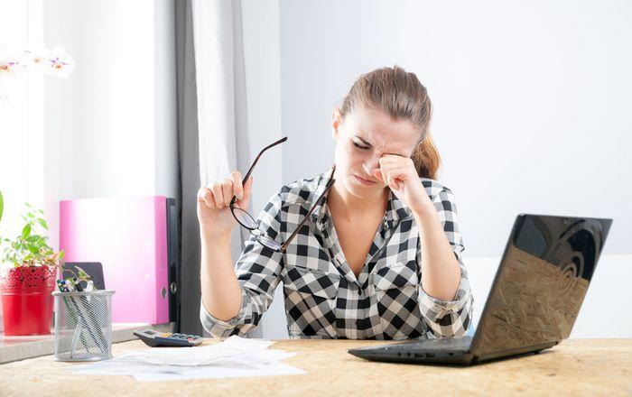 Болят глаза от работы за компьютером