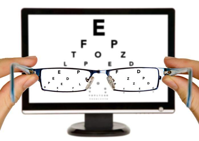Проверка зрения с помощью домашнего компьютера