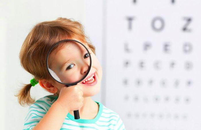 Коррекция зрения у детей