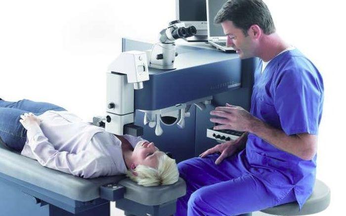 Лазерный интрастромальный кератомилез