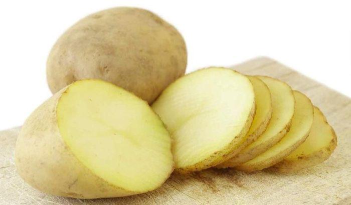Картофель для лечения отёков век