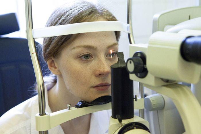 Подготовка к операции на глаза