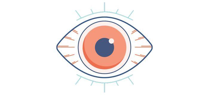 Глаз рисунок