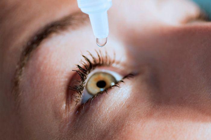 Глазные капли применение