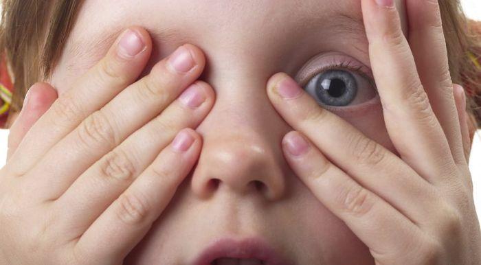 Заболевание глаз у детей