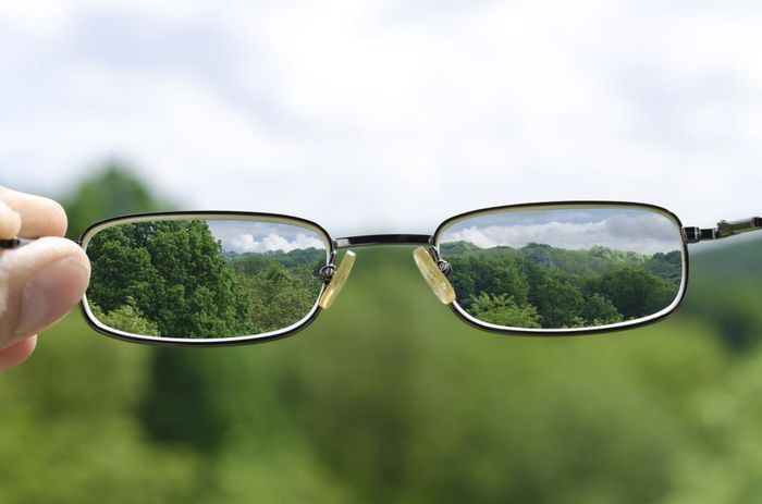 Очки при плохом зрении