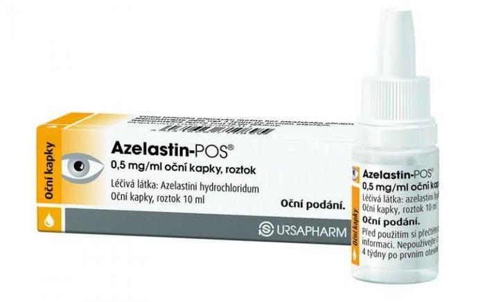 Азеластин - глазные капли