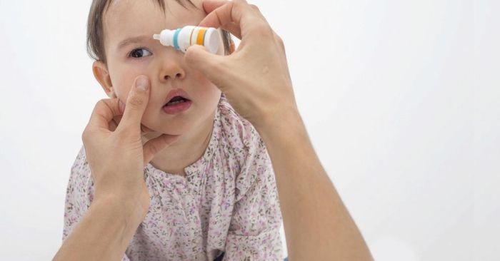 Капли для глаз для детей