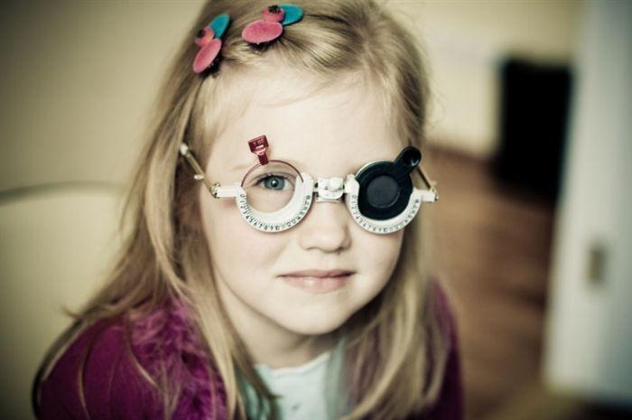 Очки от косоглазия для ребенка