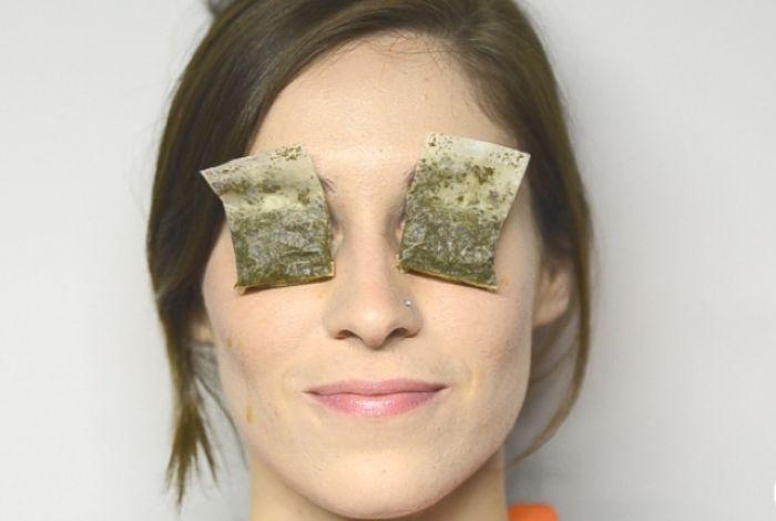 Чайные пакетики на глаза от синяков