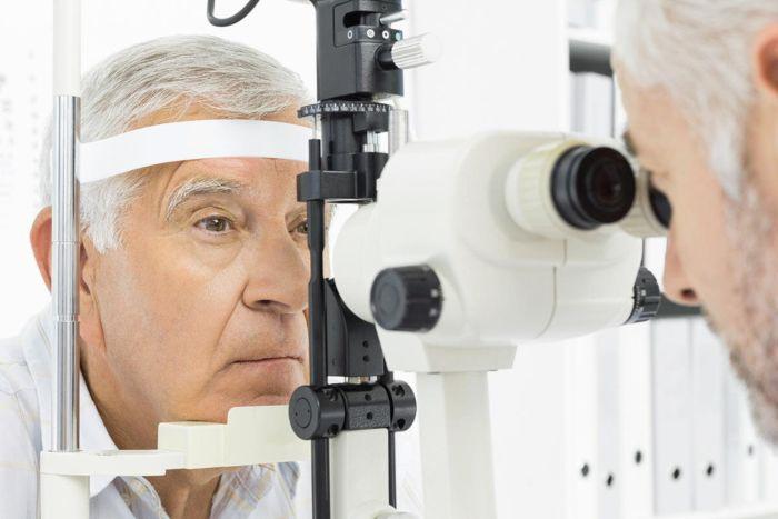 Диагностирование катаракты