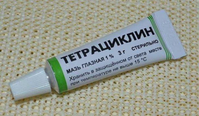 Тетрациклин мазь