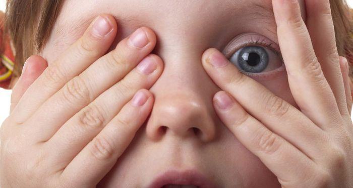 Покраснения глаз у детей
