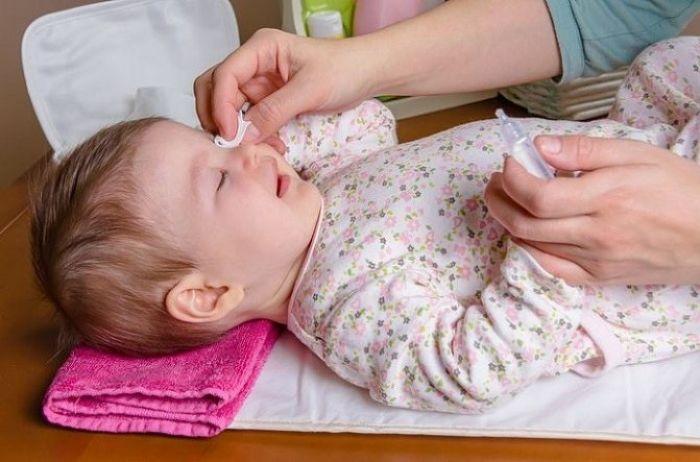 Лечение ячменя у детей