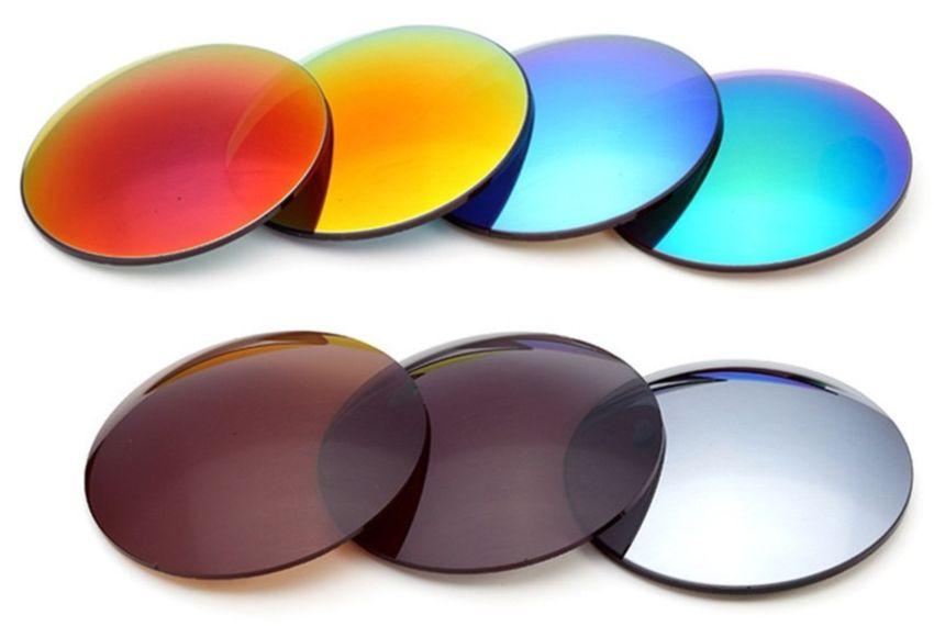 Цветные линзы из стекла
