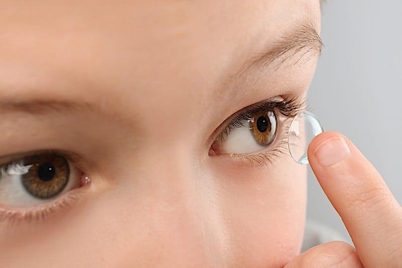 Детские контактные линзы