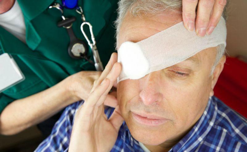 Механические травмы глаза