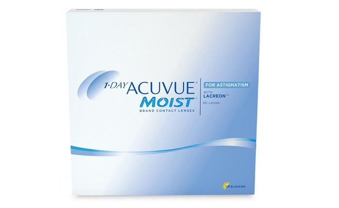 Линзы acuvue-1-day Moist for astigmatism