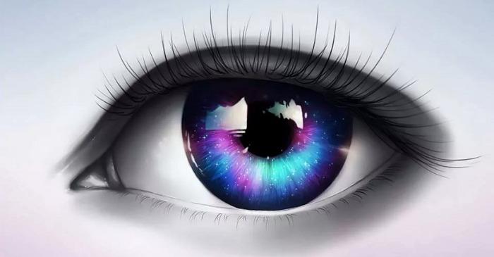 Красивый глаз рисунок