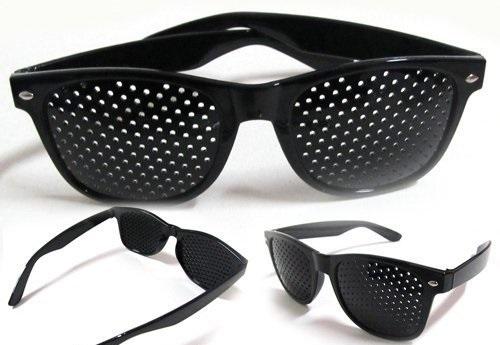 Очки для зрения с дырочками