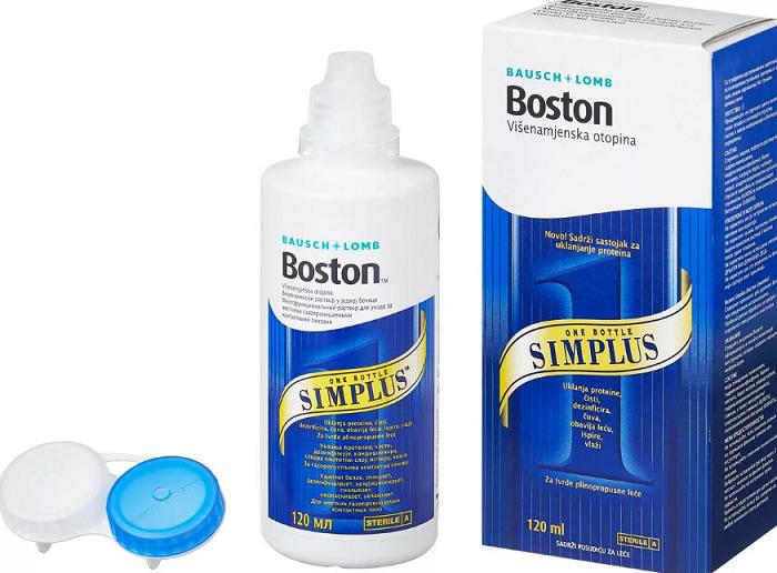 Раствор для жестких линз Boston Simplus 12